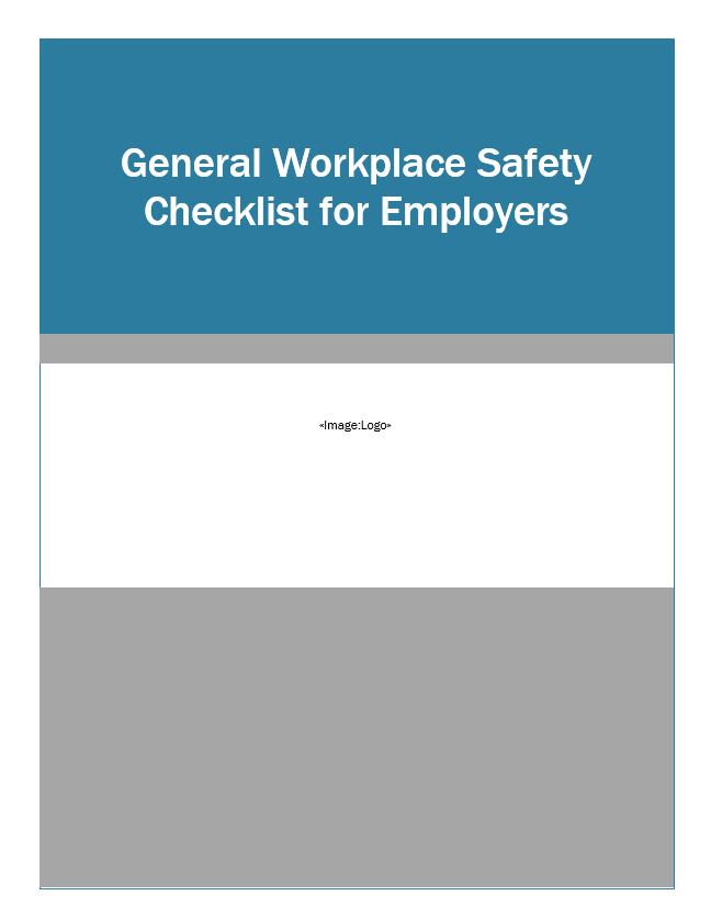 General_Workplace_Safety_Checklist